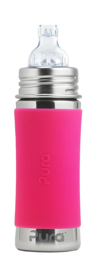 Pura-Kiki-11oz-Sippy-Pink