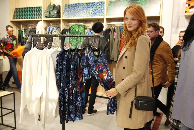 Novo v Sloveniji - Kenzo manija v H&M-u