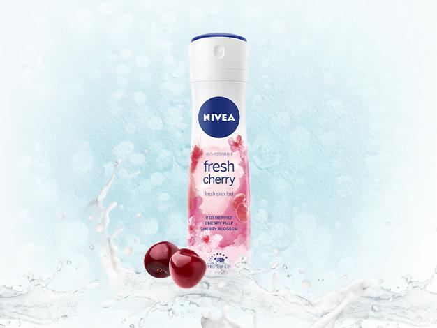 Dezodorant NIVEA Fresh Cherry
