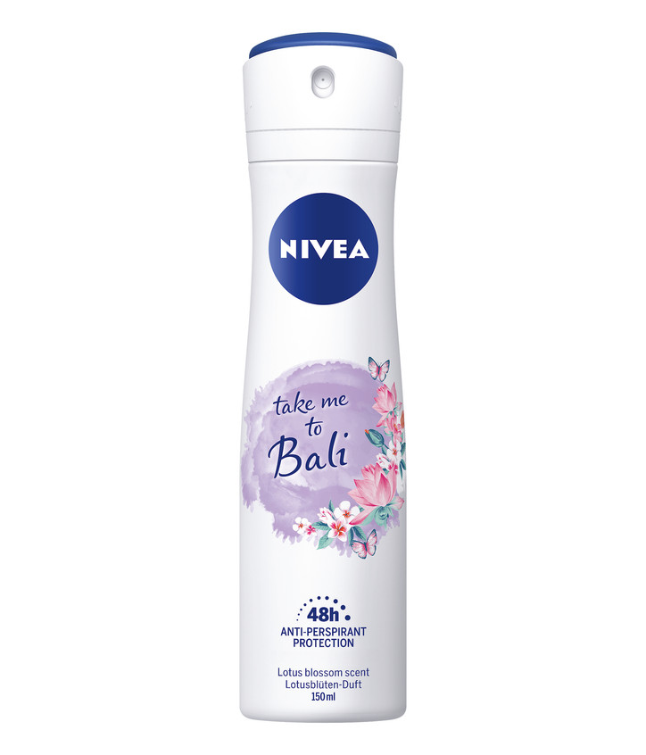 Antiperspirant NIVEA Take me to Bali