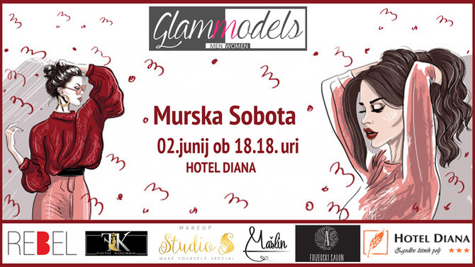 ZAKLJUČNA MODNA REVIJA - GLAMMODELS