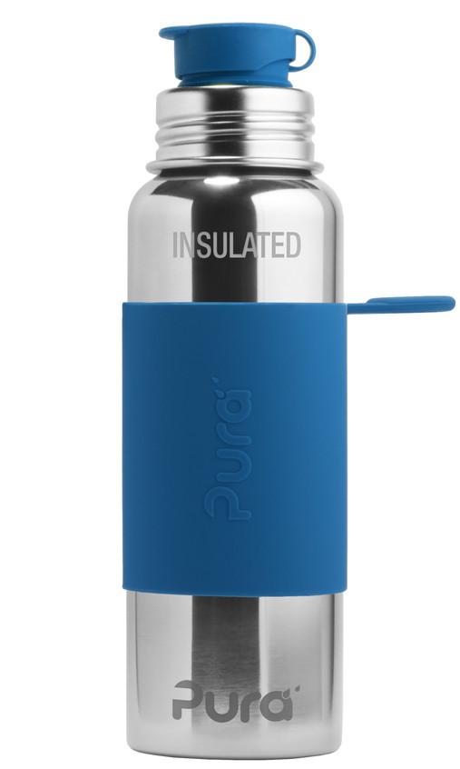 Pura-Sport-22ozInsulated-SteelBlue