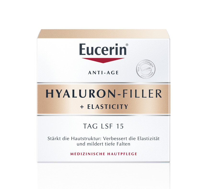 Eucerin, Hyaluron - Filler + Elasticity, dnevna krema