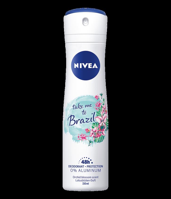 Dezodorant NIVEA Take me to Brazil