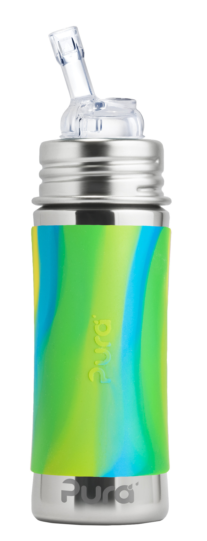 Pura-Kiki-11oz-MF-Straw-BlueSwirl