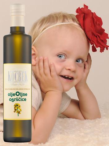 Zakaj je olje Oljne Ogrščice najboljše za malčke!
