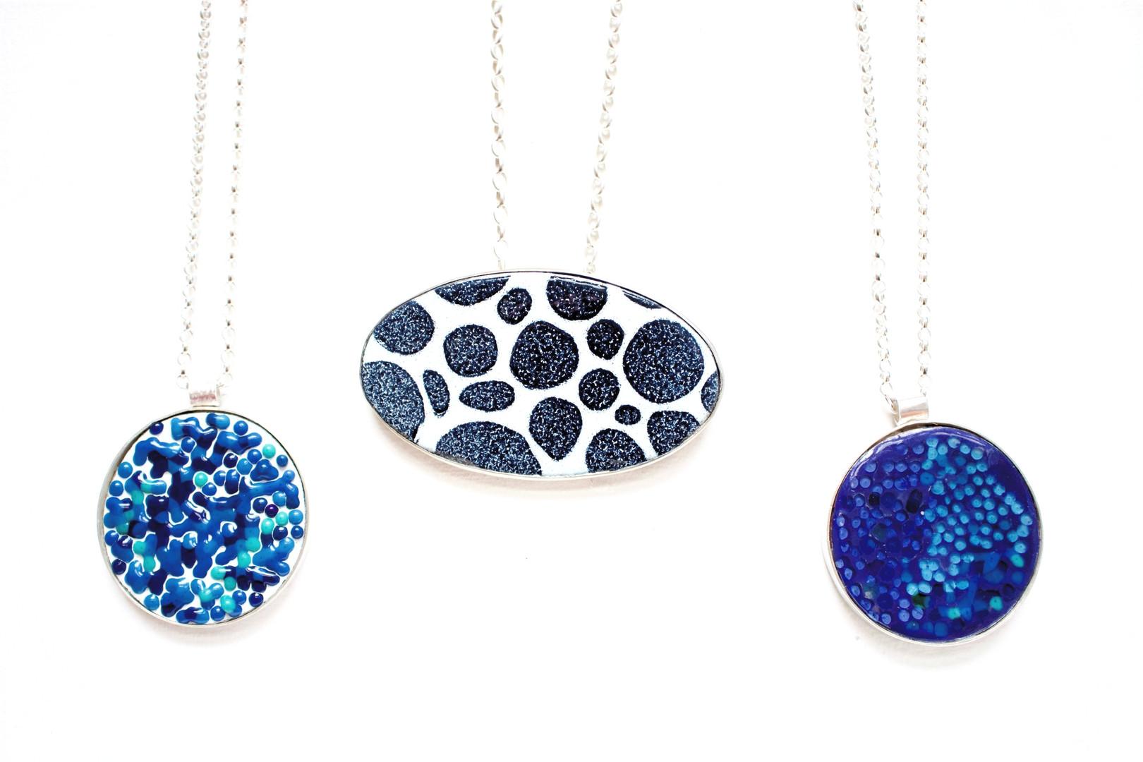 Enamelled Necklaces