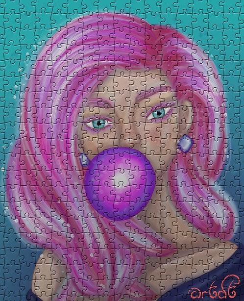 Digital Stylized Portrait + Jigsaw Puzzle