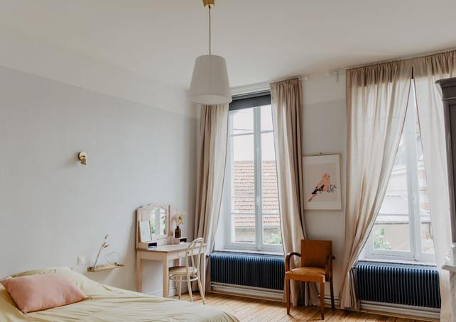 jolie chambre pastel maison sollier