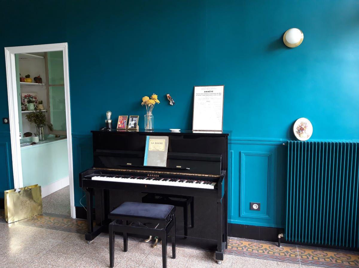 Le grand salon bleu