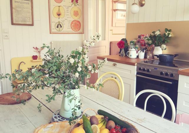 La cuisine de la maison sollier