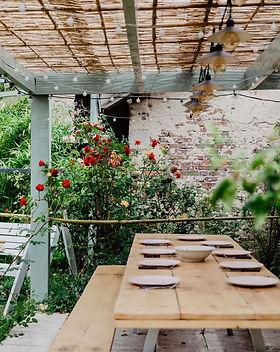 Table de jardin maison sollier