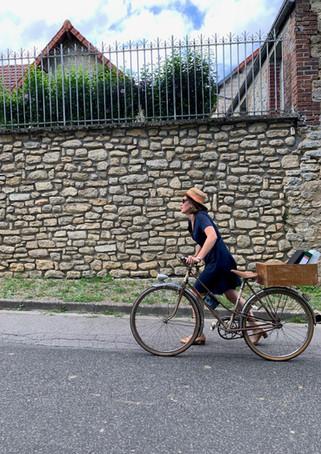 Faire du vélo à Sollier