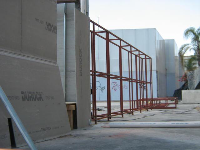 Instalación de muros de Durock