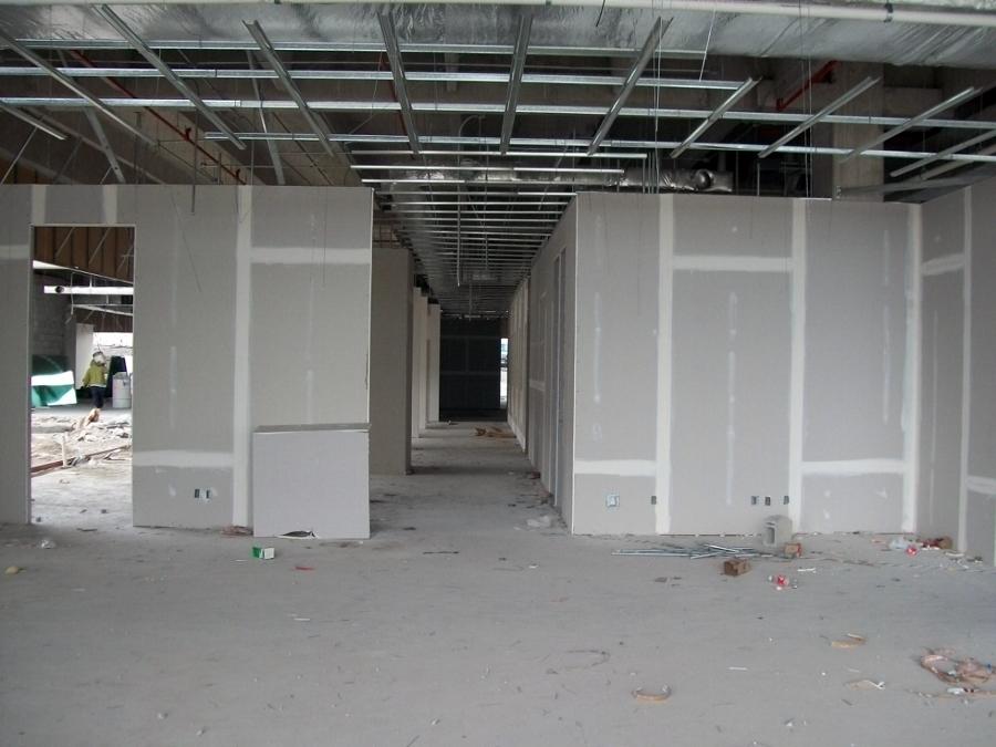 Instalación muros y plafones