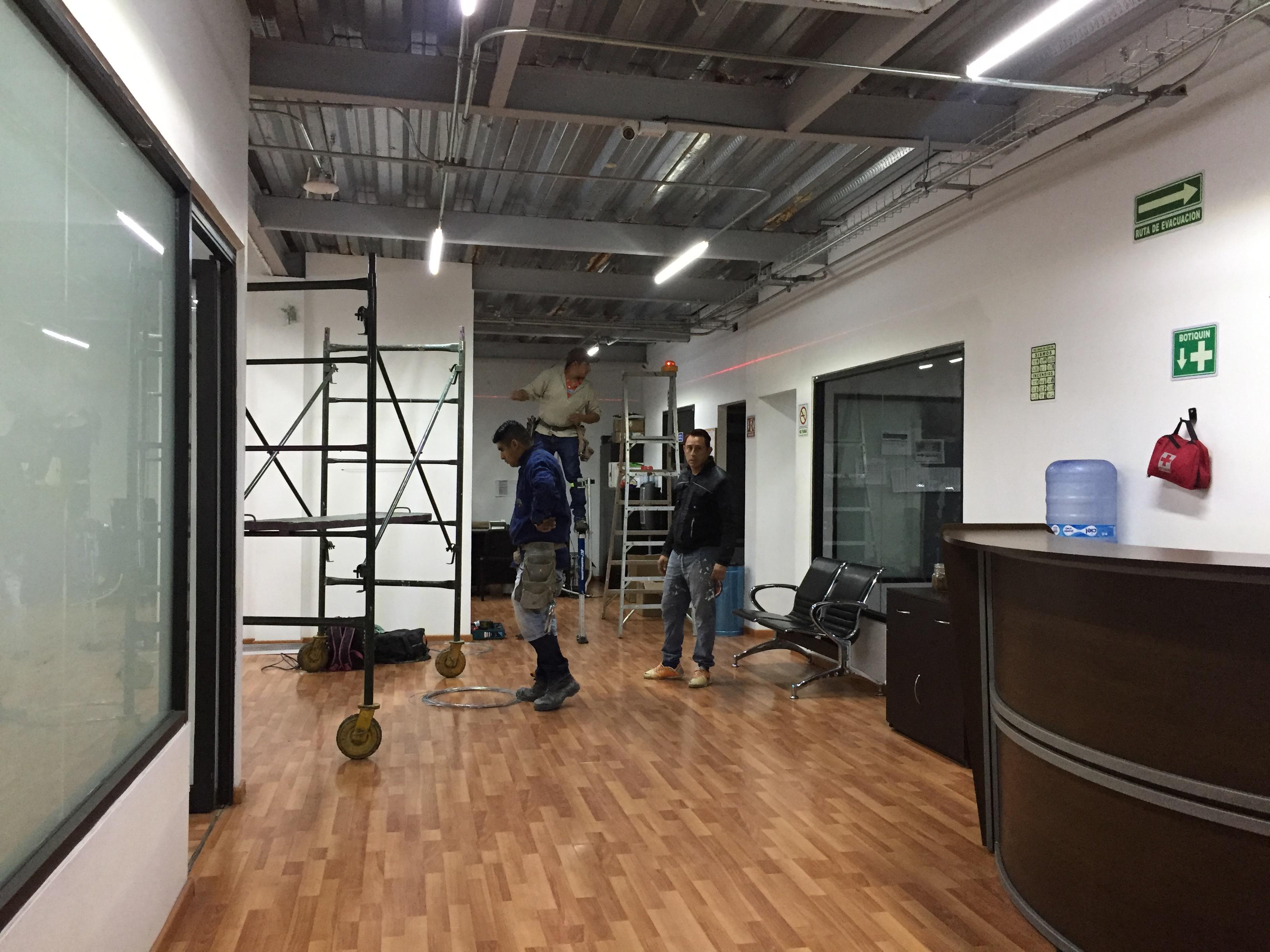 Instalación de plafones | nivelación