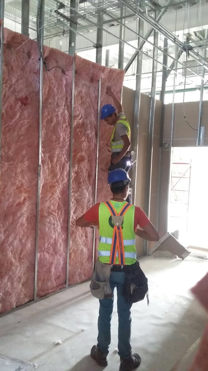 Instalación de muros