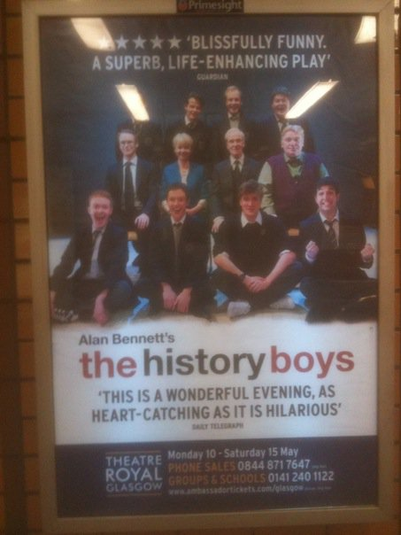 Glasgow subway poster