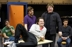 'The History Boys' in rehearsal