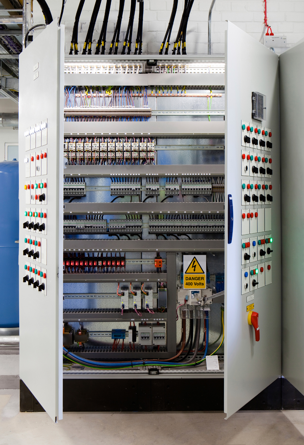 Electrical MCB Motor Control Panel