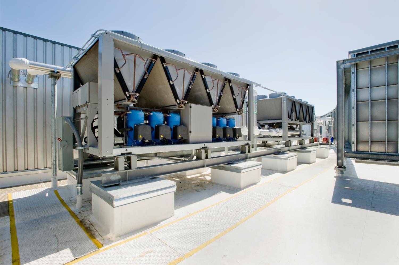 Rooftop-Chiller-Refrigeration-Installation