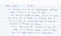 Témoignage de Marie-France