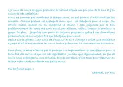 Témoignage de Chantal