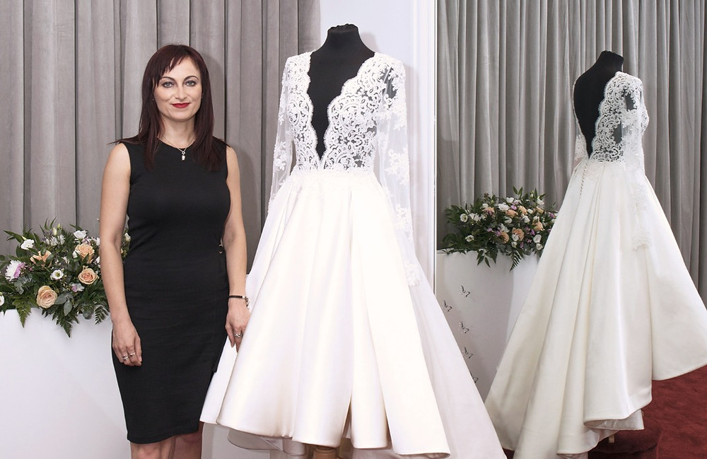 Tanya Dimitrova Wedding Dress Designer for Lluks London