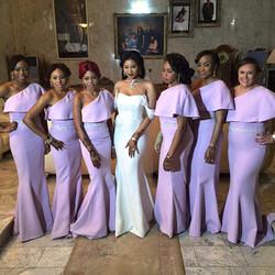 Bespoke bridesmaids