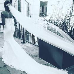 Bridal dress for Tsemaye Binitie