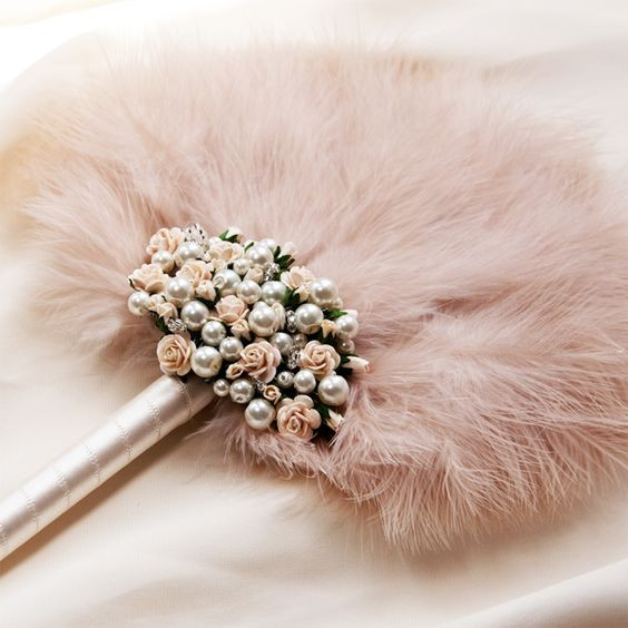 Fur wedding accessory
