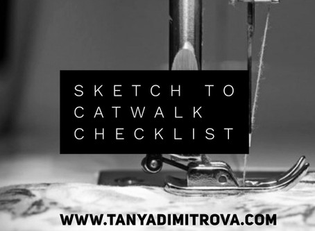 Startup Fashion Designer's Checklist - 30 Days to Make Your Sketches a Reality