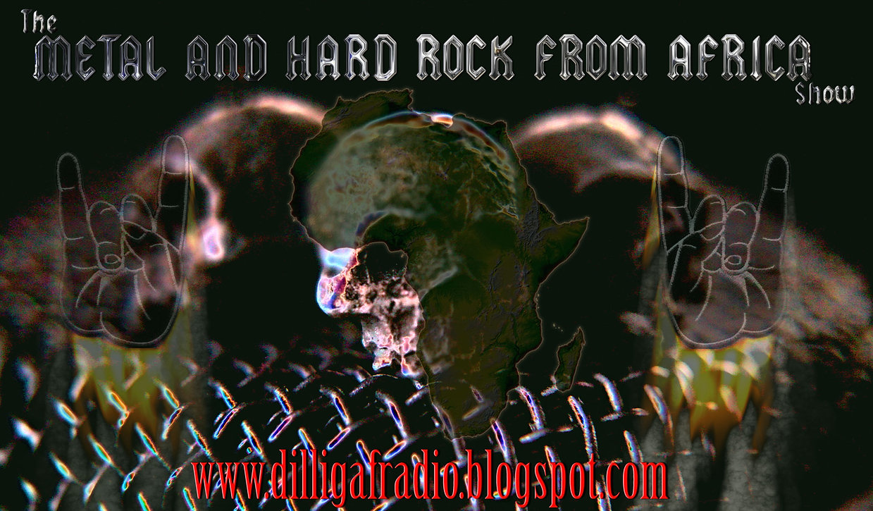 THe African Metal & HArd Rock Show logo from the Official Youtube Channel