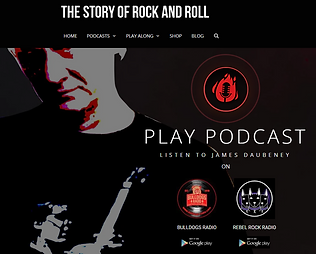 The Story Of Rock And Roll Logo