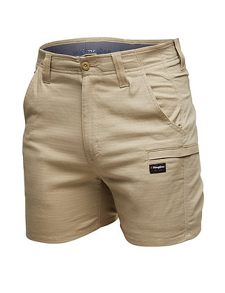 King Gee Pro Stretch Ripstop Short Shorts Khaki