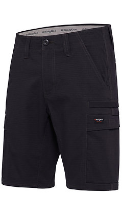 King Gee Workcool Pro Shorts Black