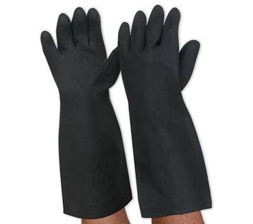 BlackKnight Latex Gloves