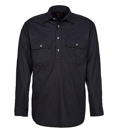 Mens Pilbara Closed Front Shirt