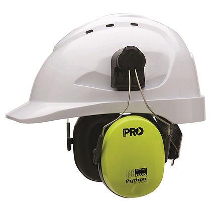 Python® Slimline Hard Hat Earmuffs Class 5, -31db