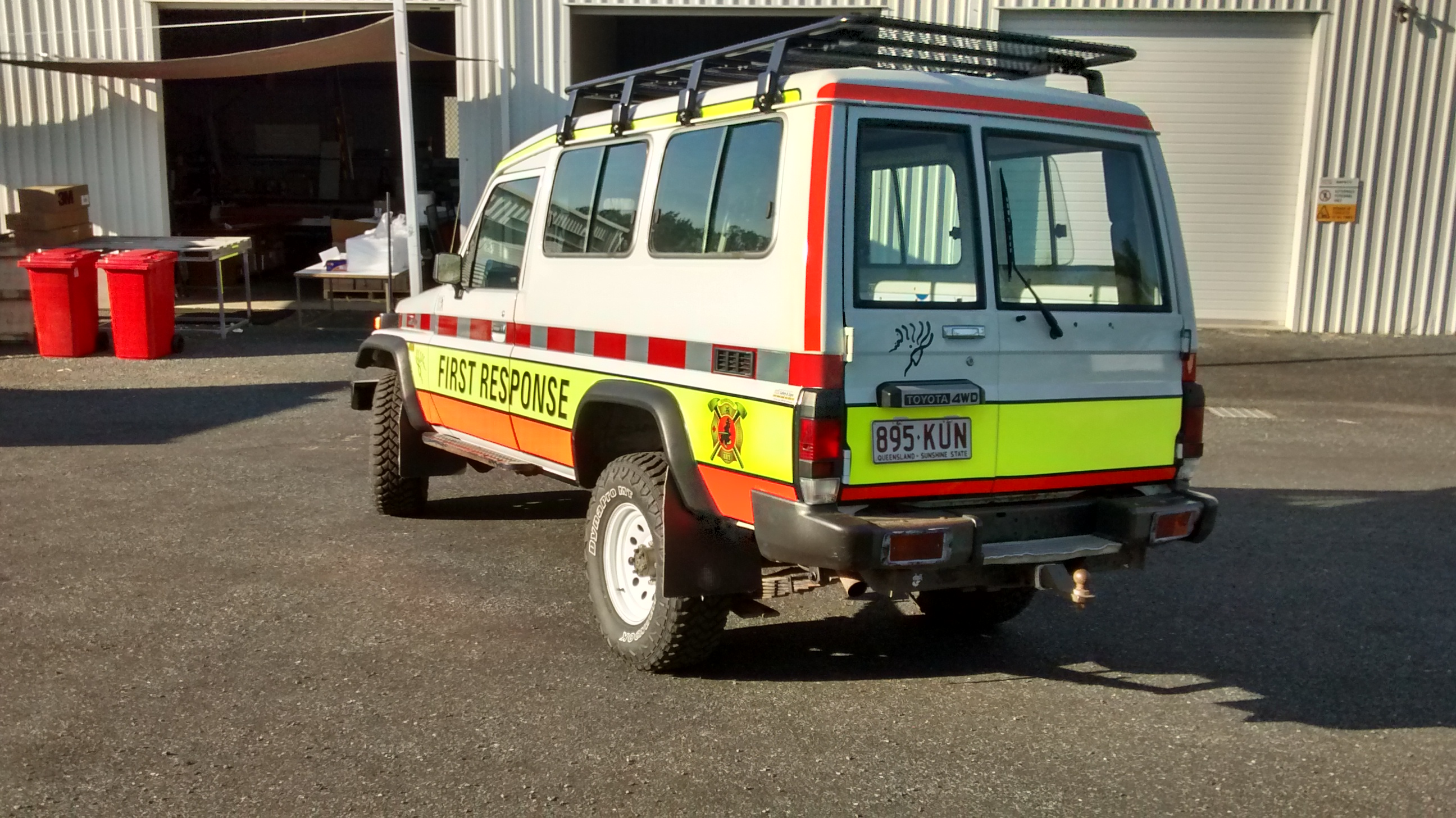 ERT Rescue Vehicle