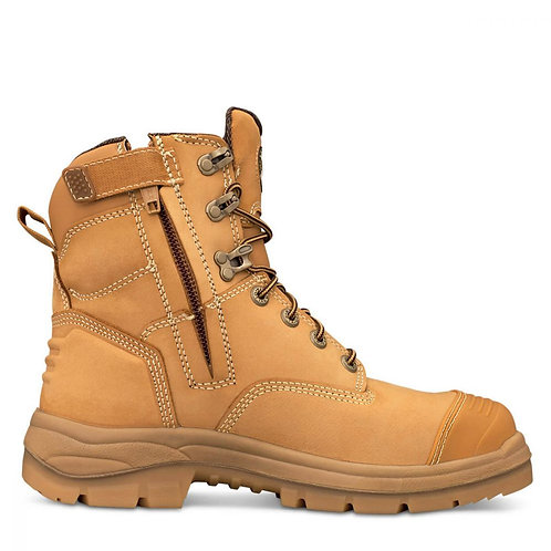 "Oliver AT 55 6"" Zip Side Steel Toe Boot"