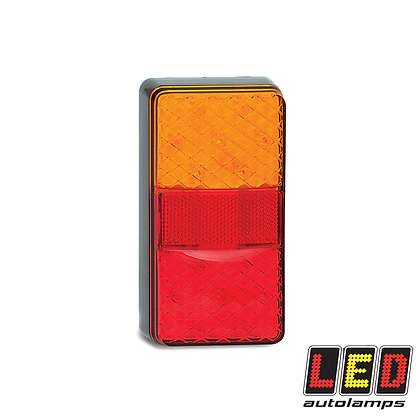 Stop/Tail/Indicator Lamp with Reflex Reflector