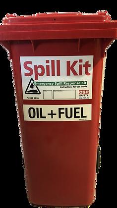 Oil & Fuel Workshop Spill Kit 120L