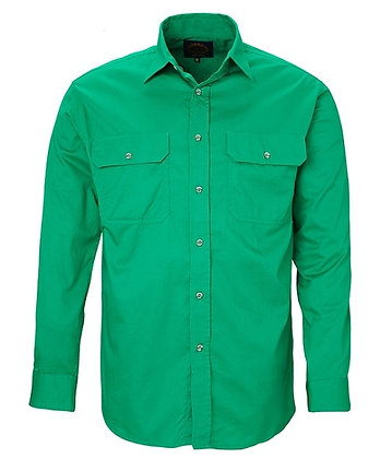 Pilbara Collection Mens Work Shirt Emerald
