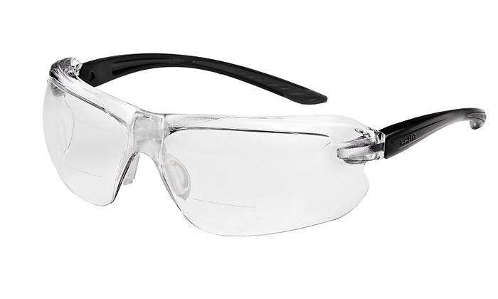 Bolle IRI-S Diopter Bifocal Clear Safety Glasses