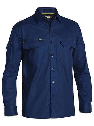 Bisley X AIRFLOW™ Ripstop Shirt Navy