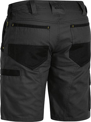 Bisley FLX & MOVE™ Stretch Cargo Short Charcoal