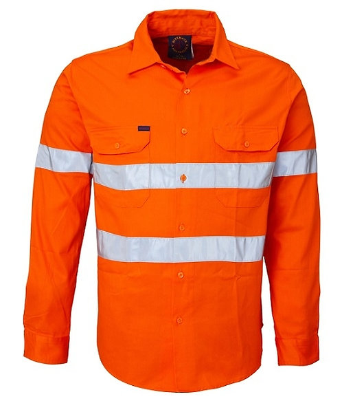 Long Sleeve Workshirt with 3M Tape