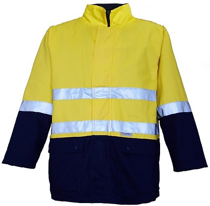 Ritemate 4 in 1 Cotton Drill Jacket with Tape