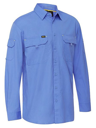 Bisley X AIRFLOW™ Ripstop Shirt Blue